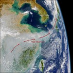 air pollution from China - Earth Observatory NASA