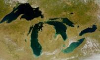 Great Lakes from space - NASA photo
