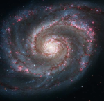 Whirlpool galaxy - Hubble Space Telescope