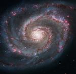 Whirlpool galaxy - Hubble Space Telescope