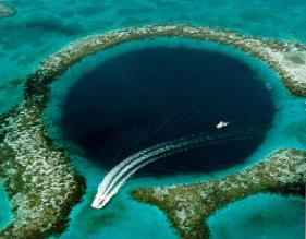 The Blue Hole - Belize Coast