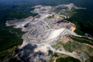 Mountaintop removal, WV - phooto, SouthWings
