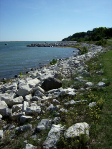 Lake Michigan from South Shore Park, Milwaukee