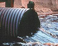 Sewage pours into Chesapeake Bay watershed - photo Chesapeake Bay Foundation