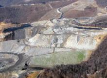 Kayford Mountaintop removal, West Virginia - photo by Vivian Stockman