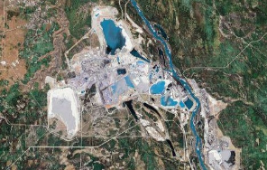 Alberta tar sands - Google Earth
