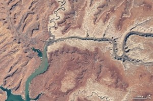Lake Powell 2009 - NASA Earth Observatory
