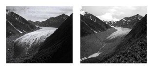 Andes Mountains glacier melt - A Vicious Cycle - source: Climate Progress