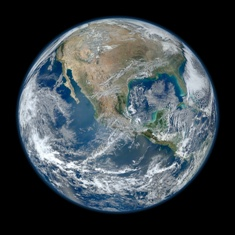 Home - it's still the only one we have. Source: NASA