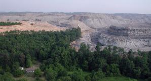 Rape for coal - photo: Vivian Stockman