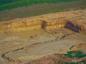 Frac-sand mining in western Wisconsin
