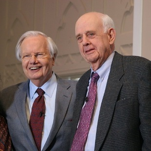 Bill Moyers and Wendell Berry - bob shiels