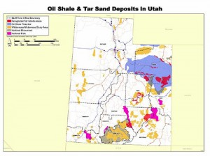 "Bad news for Utah...rich in fossil fuels. Good news for Utah...the people just saying, ""NO!"" Source: BLM"