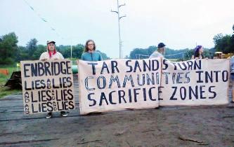 Enbridge action Michigan july 22 2013