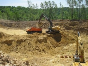 Frac sand mining in Pepin County WI. Source: Pepin County Government