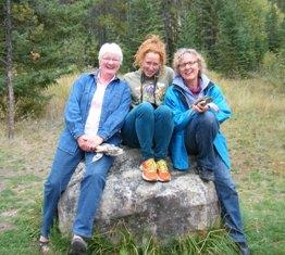 Maureen Wild SC, Heather Hendrie, Lucy Klein-Gebbinck MMS