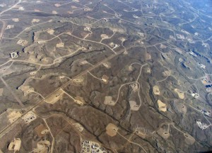 Fracking wells in Colorado - Source: Ecoflight & Greenpeace USA