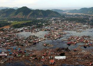 Aceh, Indonesia, after the Dec 26 2014 tsunami
